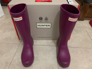 Original Hunter Kids Rain boots: Violet