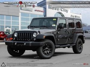 2018 Jeep Wrangler Unlimited   - *