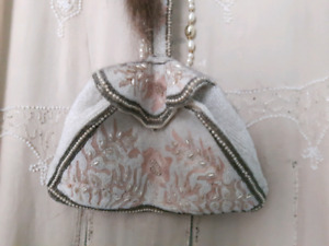 Antique vintage flapper purses