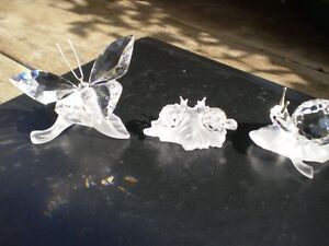 Swarovski Crystal Butterfly and Snails Figurines Kitchener / Waterloo Kitchener Area image 7