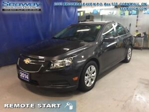 2014 Chevrolet Cruze LT  - Bluetooth -  OnStar - $80.49 B/W