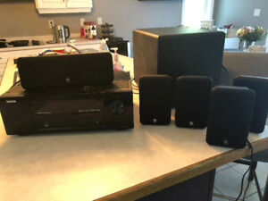 Speakers and surround sound system