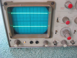 Oscilloscope Dual Trace Gould Advance OS250B 10MHz USED West Island Greater Montréal image 2
