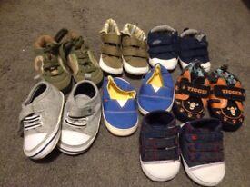 Boys pram shoes 0-6mths