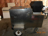 PRICE HAS BEEN REDUCED! STAINLESS STEEL HOT DOG CART