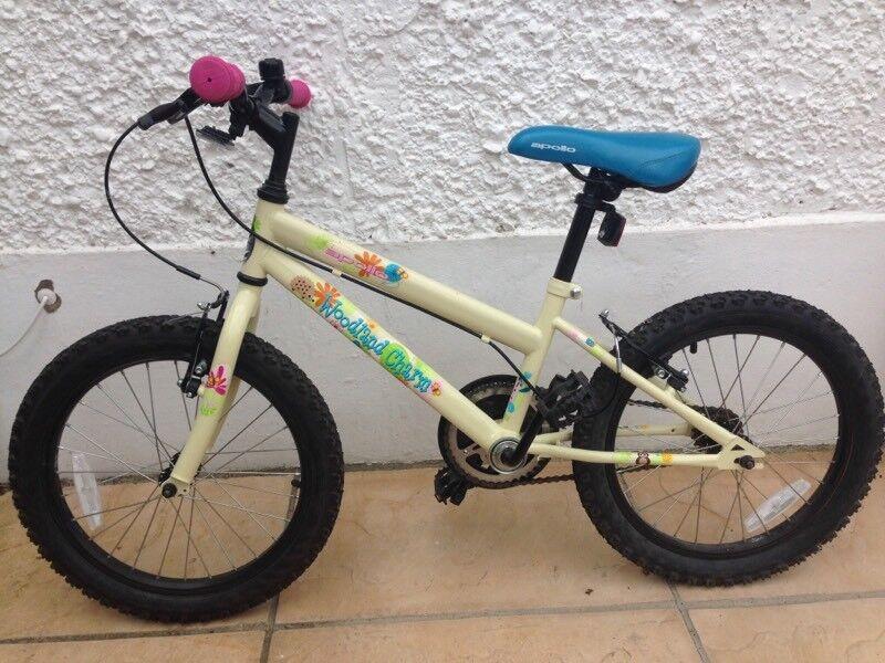 Apollo Woodland Charm Kids bike, age 5-8yrs - 18 inch