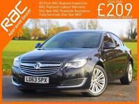 2013 Vauxhall Insignia 1.4i Turbo 140 PS Energy 5 Door 6 Speed S/S Start Stop Bl
