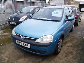 Vauxhall/Opel Corsa 1.0i 12v 2001MY Comfort