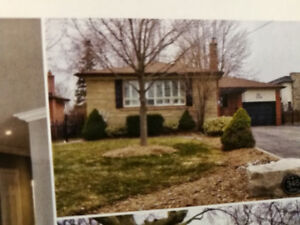 SouthWest Oakville Bungalow for rent.   Completely Renovated.