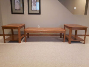 Coffee Table and End Tables (Set of 3)