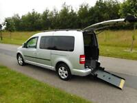 2012 Volkswagen Caddy Maxi 1.6 Tdi AUTOMATIC 7 SEATS 18K Wheelchair Accessible