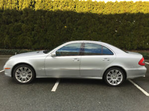 2008 Mercedes E350 4Matic 133,500 km $11,500