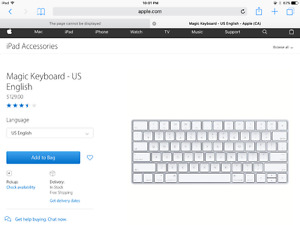 Apple Wireless keyboard for sale