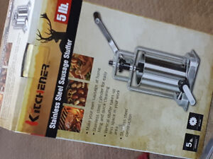 Stainless steal sausage stuffer/maker
