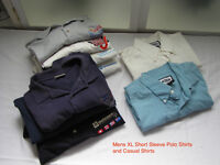 Mens Clothing, Dress and Casual Shirts, assorted sizes