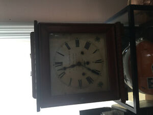 Irish mantel clock late 1800s
