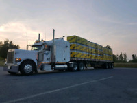 Truck driver for flatbed Canada/US