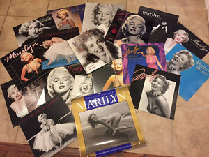 19 Marilyn Monroe calendars from 1990 to 2011 (1 sealed!)