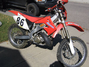Forestry legal Honda CR 250 2stroke