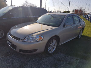 2010 Chevrolet Impala LTZ Top of the line Certified