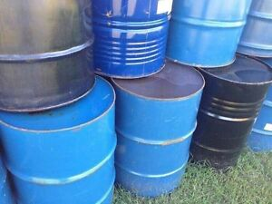 Steel burn barrels food grade
