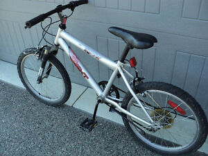 "(2) GENTLY USED BIKES ~ 5 SPEED ~ 20"" - 24"" TIRES"