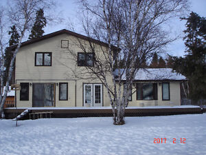 LAKEFRONT HOUSE OR COTTAGE FOR SALE ON ROCKY LAKE NORTH SHORE