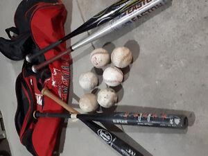 Softball equipment needs home