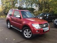 MITSUBISHI SHOGUN WARRIOR 3.2 AUTO, 2007, EVERY EXTRA!! STUNNING VEHICLE, BARGAIN! PAY D/CREDIT CARD