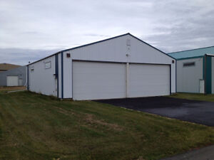 Aircraft Hangar / Commercial Building - Cooking Lake