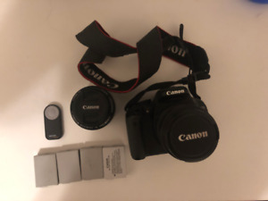 SELLING CANON T3I KIT Lens + 50mm (and EXTRAS)