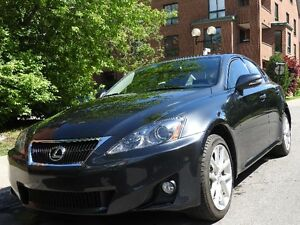 2011 Lexus IS250 AWD in mint condition - low KMs