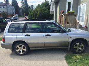 1997 Subaru Forester s/tb - Rare - Only 80,000KM