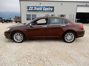 2012 Chrysler 200-Series Limited Lthr Roof 3.6L Nav Sedan