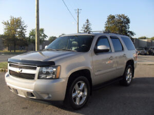 2007 CHEV TAHOE 4X4 SUV CERT FULLY LOADED LOW LOW KMS