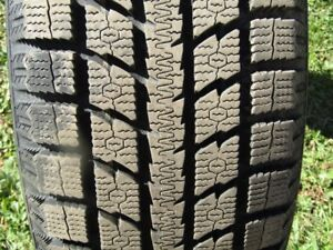 For Sale 4 top Performance Winter Tires,  Almost New P2225/55R19