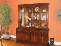 Solid Cherry Gibbard China Cabinet