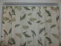 Shower Curtain & matching accessories