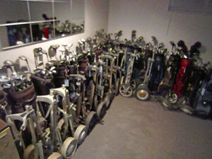 ENTIRE STOCK OF Used GOLF SETS, BAGS,CARTS ETC. ETC. !!!!! London Ontario image 2
