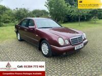 1998 Mercedes-Benz E-CLASS 2.4 E240 ELEGANCE 4d 168 BHP Saloon Petrol Automatic