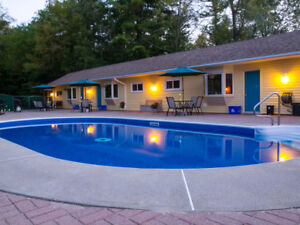 The Pinewood Motel Ipperwash Winter Rentals