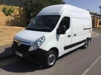 2014 Vauxhall Movano 2.3 CDTI 3500 High Roof Van w Tail Lift Manual Panel Van