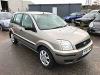 Ford Fusion 1.4 Tdci 5 Door, £30 a year Tax, 60Mpg, 12 Month Mot, 3 Month Warranty