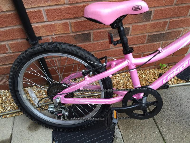 20 inch wheels Girls mountain bike suitable for ages 7-10 ...