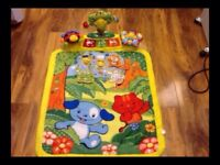 Vtech Explore And Learn Baby Mat - in very good and clean condition