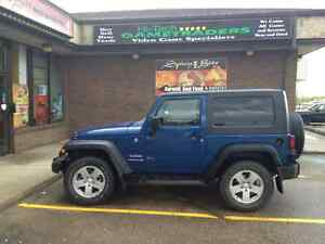2010 Jeep Wrangler 2 door SUV, Crossover