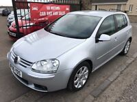 2006 VW GOLF GT TDI DSG (140) SERVICE HISTORY, 1 YEAR MOT, WARRANTY