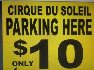 CIRQUE DU SOLEIL - CHEAP $10 PARKING