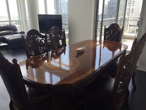 Antique Style wooden dining table