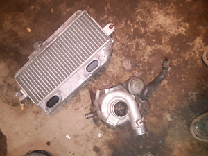 Tdo4 turbo and intercooler off wrx